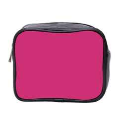Trendy Basics   Trend Color Pink Yarrow Mini Toiletries Bag 2 Side