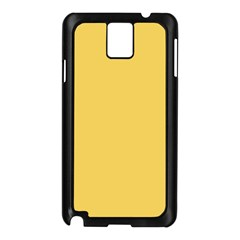 Trendy Basics - Trend Color PRIMEROSE YELLOW Samsung Galaxy Note 3 N9005 Case (Black)