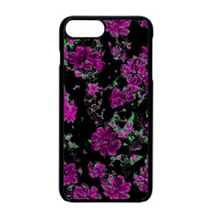 Floral Dreams 12 A Apple Iphone 7 Plus Seamless Case (black)
