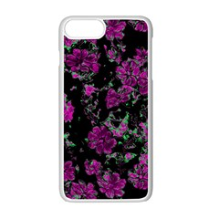 Floral Dreams 12 A Apple Iphone 7 Plus White Seamless Case