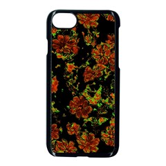 Floral Dreams 12 C Apple Iphone 7 Seamless Case (black)