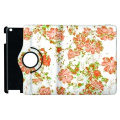 Floral Dreams 12 D Apple Ipad 3/4 Flip 360 Case