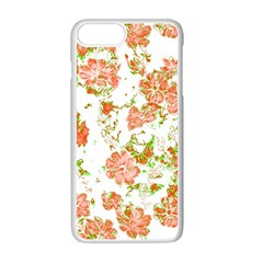 Floral Dreams 12 D Apple Iphone 7 Plus White Seamless Case