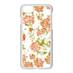 Floral Dreams 12 D Apple Iphone 7 Seamless Case (white)