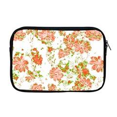 Floral Dreams 12 D Apple Macbook Pro 17  Zipper Case