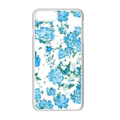 Floral Dreams 12 E Apple Iphone 7 Plus White Seamless Case