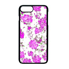 Floral Dreams 12 F Apple Iphone 7 Plus Seamless Case (black)
