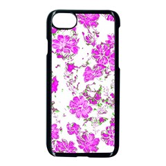 Floral Dreams 12 F Apple Iphone 7 Seamless Case (black)