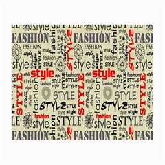 Backdrop Style With Texture And Typography Fashion Style Small Glasses Cloth