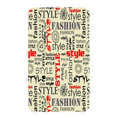 Backdrop Style With Texture And Typography Fashion Style Memory Card Reader