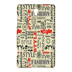 Backdrop Style With Texture And Typography Fashion Style Samsung Galaxy Tab S (8.4 ) Hardshell Case