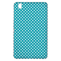 Sleeping Kitties Polka Dots Teal Samsung Galaxy Tab Pro 8 4 Hardshell Case