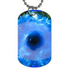owl Dog Tag (Two-sided)