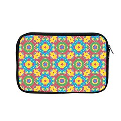 Geometric Multicolored Print Apple Macbook Pro 13  Zipper Case