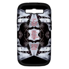 Army Brothers In Arms 3d Samsung Galaxy S Iii Hardshell Case (pc+silicone)