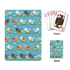 Assorted Birds Pattern Playing Card