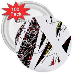 Art 3  Buttons (100 pack)