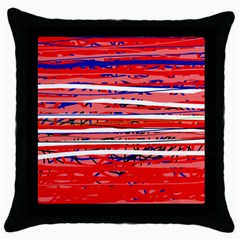 Art Throw Pillow Case (Black)