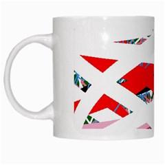 Art White Mugs