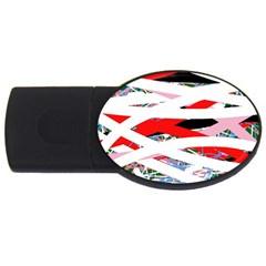 Art USB Flash Drive Oval (2 GB)