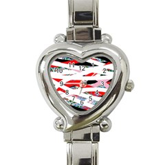 Art Heart Italian Charm Watch