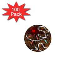 Art 1  Mini Buttons (100 pack)