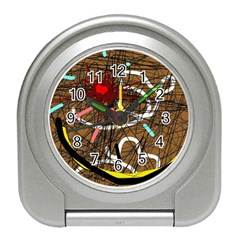 Art Travel Alarm Clocks