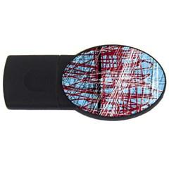 Art USB Flash Drive Oval (4 GB)