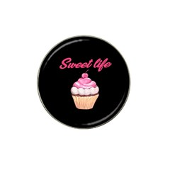 Sweet life Hat Clip Ball Marker (10 pack)