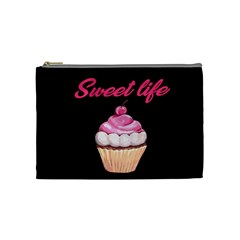 Sweet life Cosmetic Bag (Medium)