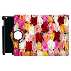 Rose Color Beautiful Flowers Apple iPad 3/4 Flip 360 Case