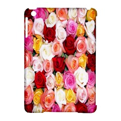 Rose Color Beautiful Flowers Apple iPad Mini Hardshell Case (Compatible with Smart Cover)