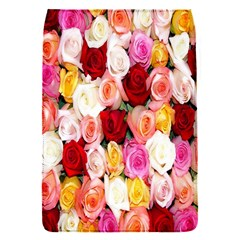Rose Color Beautiful Flowers Flap Covers (S)