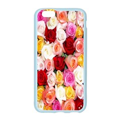 Rose Color Beautiful Flowers Apple Seamless iPhone 6/6S Case (Color)