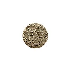 Golden European Pattern 1  Mini Buttons