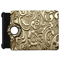 Golden European Pattern Kindle Fire HD 7