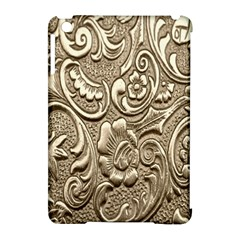Golden European Pattern Apple iPad Mini Hardshell Case (Compatible with Smart Cover)
