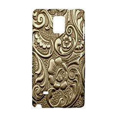 Golden European Pattern Samsung Galaxy Note 4 Hardshell Case