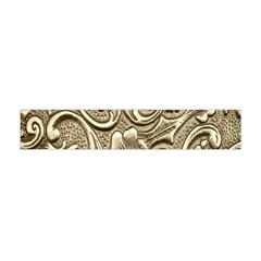 Golden European Pattern Flano Scarf (Mini)