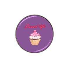 Sweet life Hat Clip Ball Marker