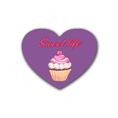 Sweet life Heart Coaster (4 pack)