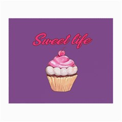 Sweet life Small Glasses Cloth (2-Side)