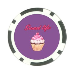 Sweet life Poker Chip Card Guard