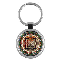 Colorful Mandala Key Chains (Round)