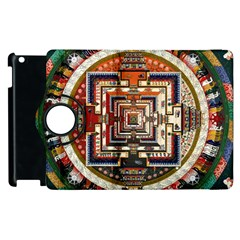 Colorful Mandala Apple iPad 2 Flip 360 Case
