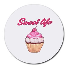 Sweet life Round Mousepads