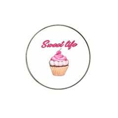 Sweet life Hat Clip Ball Marker (4 pack)