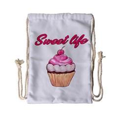 Sweet life Drawstring Bag (Small)