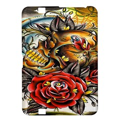 Flower Art Traditional Kindle Fire HD 8.9