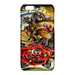 Flower Art Traditional iPhone 6/6S TPU Case